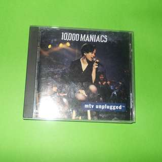 CD 10,000 MANIACS : MTV UNPLUGGED ALBUM ALTERNATIVE INDIE NATALIE MERCHANT
