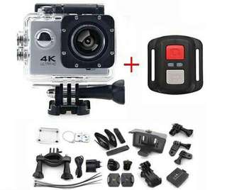 ORIGINAL GOQ 4K F60R ACTION CAMERA FULL HD 1080P WATERPOOR GOPRO SJCAM