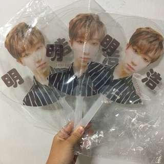 Seventeen The8 Transparent Fan Diamond Edge Fansupport