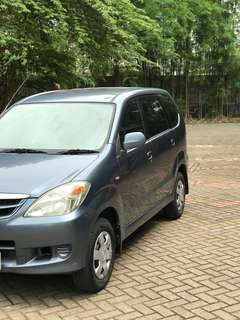Avanza Manual E Abu2 2011 82000 km