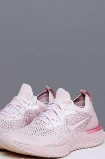 Nike epic react pink matcha