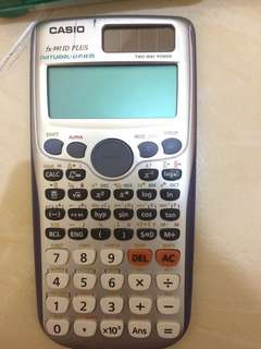 Kalkulator Scientific #AFBakrie