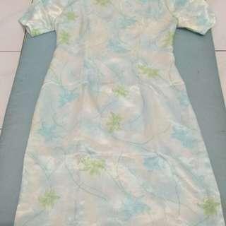 """""""harga promo""""Dress biru muda"""