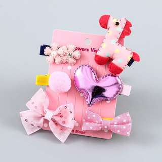 Baby hair accessories (6pcs/Set)