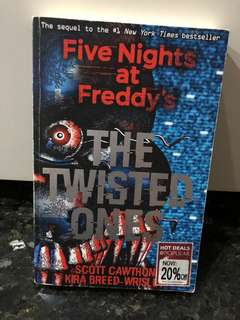 Five Nights at Freddys The Twisted Ones Story Book