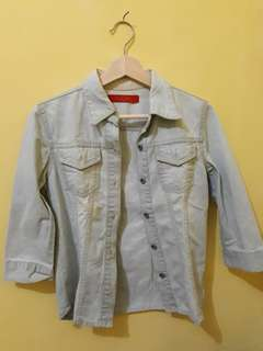 Jaket Jeans Biru