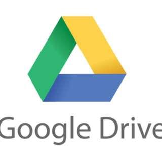 Google Drive 雲端5TB/10TB儲存空間 iphone