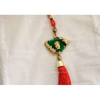 1PC Chinese Tassel Lucky Charm Decoration, Good Fortune