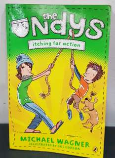 The Undys Itching For Action - Michael Wagner