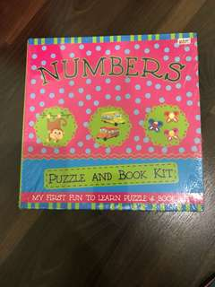 Puzzle and book kit