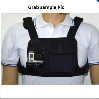 chest mount strap for sports camera (brandnew)