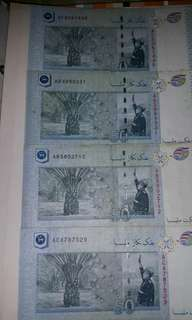50 years merdeka anniversary currency