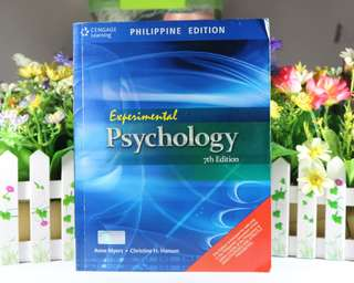 Experimental Psychology 7th Edition by A. Myers & C. Hansen