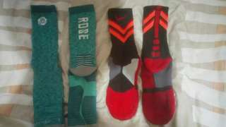 Elite socks and shoes