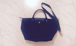 Le Pliage Neo Top Handle Bag Medium Black
