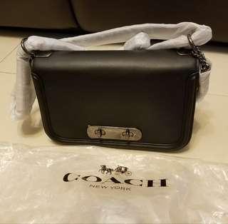 Coach Shoulder Bag  54640 (Black 黑色 )