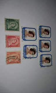 New Zealand vintage stamps
