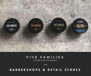 Five Families Premium Pomade