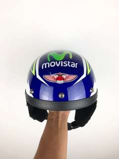 HELMET MHR MOVISTAR LIMITED EDITION