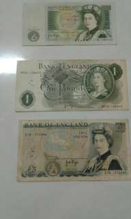 Old Notes(England Pounds)