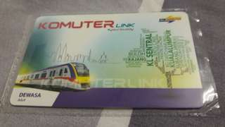 Komuter Link Card - Adult