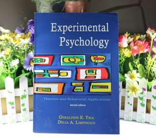 Experimental Psychology by G. Tria & D. Limpingco