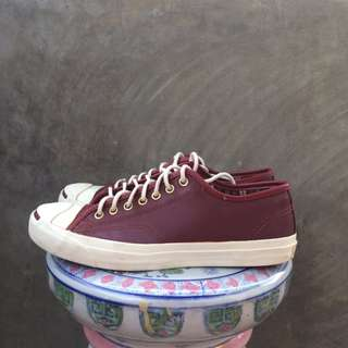 Converse Jack Purcell Wine Leather