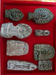Thai Amulet - old amulet 1000 years old at least