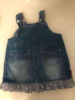 Baby Girl Denim Dress (6-9M)