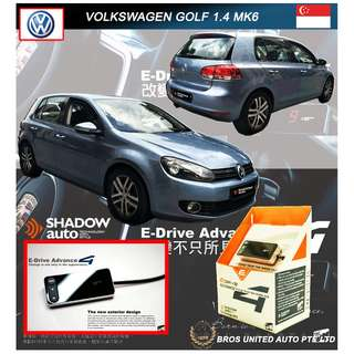 VOLKSWAGEN GOLF 1.4 MK6  - Shadow E drive advance 4 E throttle controller