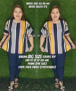 Bakuna plus size top 💰310  🌼The most requested plus size outfit 🌼Nasa photo ang details *jm