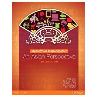 Marketing Management: An Asian Perspective 6th Edition