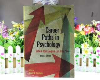 Career Paths in Psychology Second Ed. by Robert Sternberg