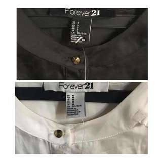 Forever 21 silky polo