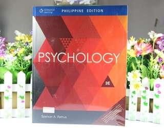Psychology 3E by Spencer Rathus