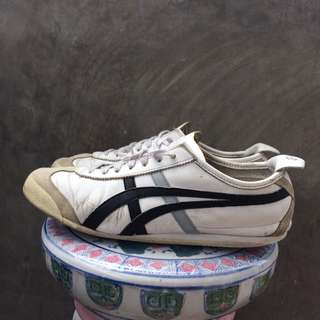Onitsuka Tiger Mexico 66 Black Leather
