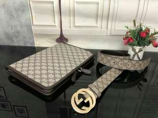 Gucci Clutch with Belt Brown Color