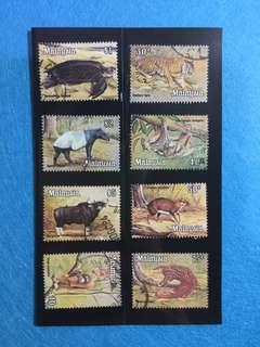 1979 Animal Definitives Set Complete 8V