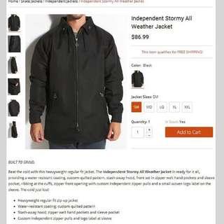 independent jacket 夾克 外套