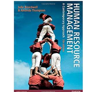 Human Resource Management: A Contemporary Approach, 7/E