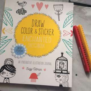 Drawing and Coloring Book