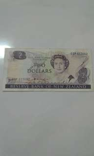 Old New Zealand Note