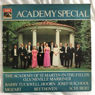 Academy Special St. Martin-In-The-Fields Marriner EMI 5N 045-02254