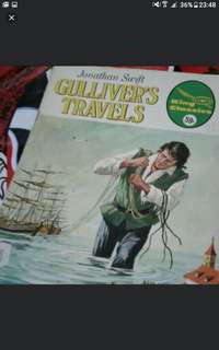 Jonathan swift  Gulliver's travels  A4 SIZE  Vintage comics collectible  $10 each  Collect at hougang buangkok mrt