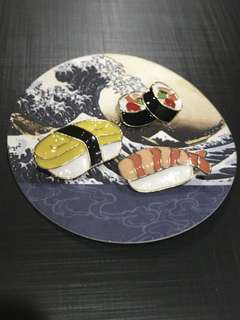 Sushi Collar Pins