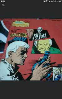 THE invisible Man  A4 SIZE  Vintage comics collectible  $10 each  Collect at hougang buangkok mrt