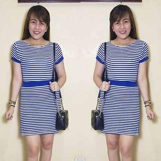 Stripes terno dress