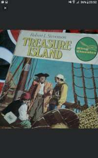 Robert louis stevenson Treasure island  A4 SIZE  Vintage comics collectible  $10 each  Collect at hougang buangkok mrt