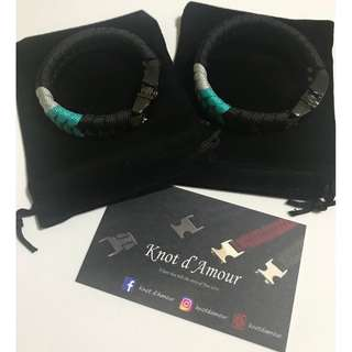 [Perfect Couple Gift] Couple Paracord Bracelets by Knot d'Amour