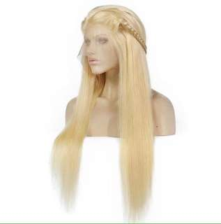 Lace front Wig Long straight.